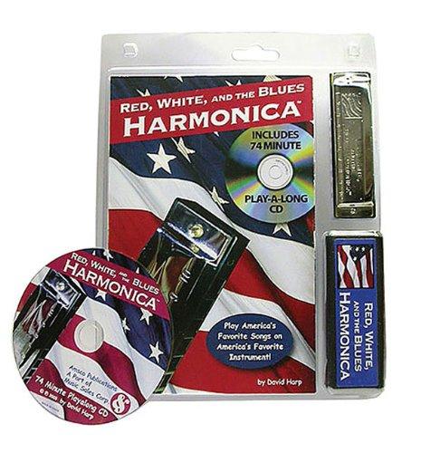 David Harp - Red, White, and the Blues Harmonica: Book/CD/Harmonica Pack