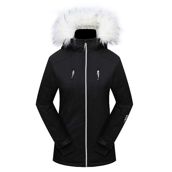Amazon.com: PHIBEE - Chaqueta de esquí para mujer ...
