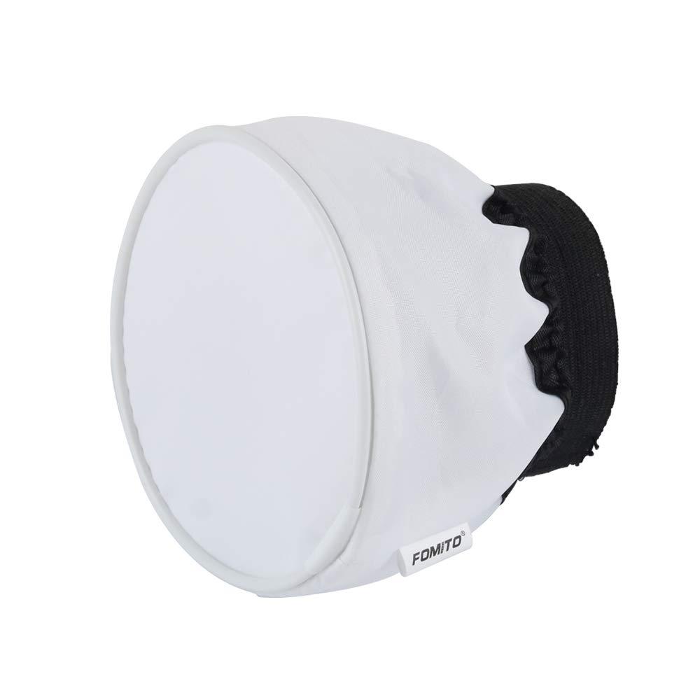Fomito Difusor de Flash para Flash Godox V1 Color Blanco