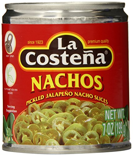 La Costena Nacho Jalapeno, 7 Ounce (Pack of 24) (La Costena Jalapeno)