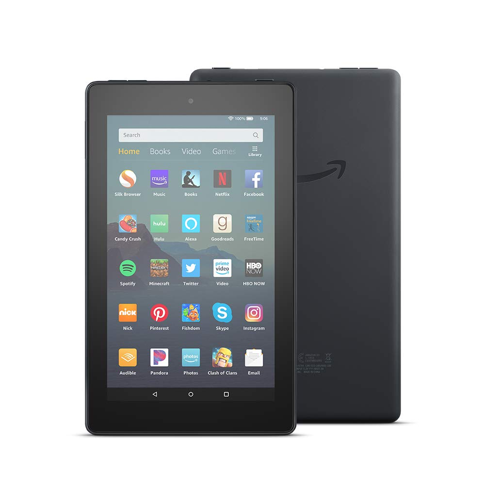 All-New Fire 7 Tablet (7'' display, 16 GB) - Black by Amazon