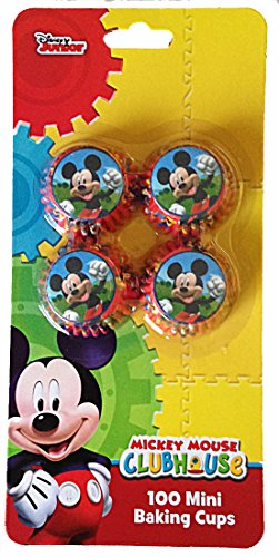 Disney Mickey Mouse Cupcake mini baking 100 cups paper