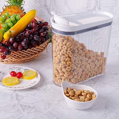 Elegear Alimentos Secos Cereal Caja de Almacenamiento BPA Free ...