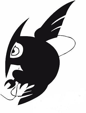 Akame ga kill 5 night raid black logo decal sticker for laptop car window tablet
