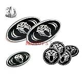 kia wheel emblem - New Set 7 Pieces For 7pcs For 2011 2012 2013 2014 Kia Optima K5 Tiger Tigris FR Grille+Trunk+Steering Wheel emblem Cap Stickers EMBLEM Stickers KIA