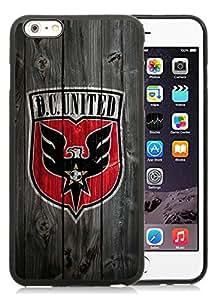 Fashionable And Antiskid Designed iPhone 6 plus Case MLS DC United iPhone 6 Plus 5.5 inch TPU Case Cover 06 Black