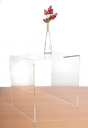 premium clear acrylic sideend table