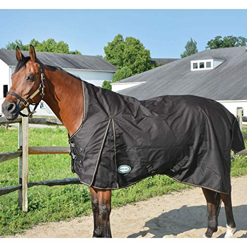 (Country Pride 1200D Paladin High Neck Heavyweight Turnout Horse Blanket Sz 82 Red)