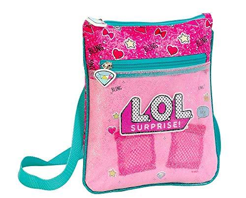 L O L Surprise! Bolso para Niñas, Bandolera Diseño 3D, Correa Ajustable, Regalo Cumpleaños Navidad para Niñas! 20 X 23 X…