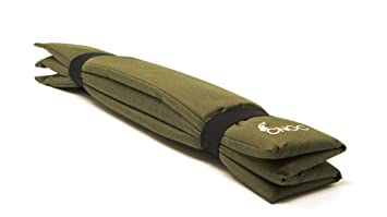 CNOC almohada de viaje & cojín de asiento plegable - ideal para practicar senderismo, acampar