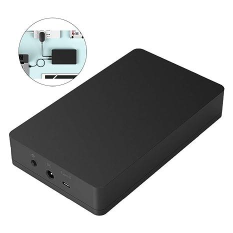 Carcasa de Disco Duro Tipo C de 3.5/2.5 Pulgadas USB3.1 Gen2 ...