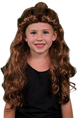 [My Costume Wigs Belle At the Ball Wig One Size Fits All] (Belle Wigs)