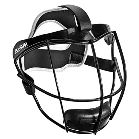 Softball Lightweight Pitchers/Infielders Face Guard  Used by Players in  ASA, High School, Travel Ball & College