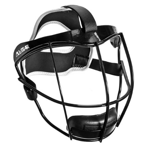 Softball Lightweight Pitchers/Infielders Face Guard. Used by Players in ASA, High School, Travel Ball & (Softball Pitchers Face Guard)