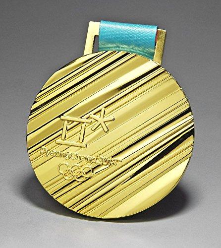 2018 PyeongChang WINTER OLYMPICS GOLD Souvenir medal KOREA Olympics with Ribbon TEAM USA RUSSIA GERMANY CANADA CHINA - Usps Canada