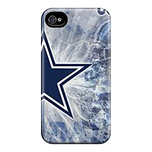 For Iphone 4/4s Tpu Phone Case Cover(dallas Cowboys)