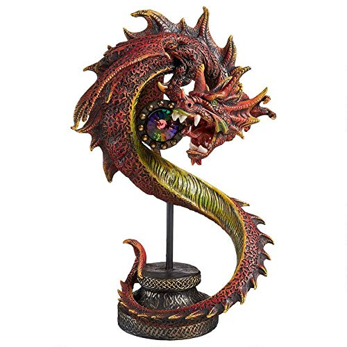 Design Toscano Shadow Hydra Gothic Dragon Statue