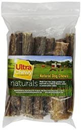 Rush Direct Ultra Chewy Naturals - Thick Bully Sticks for Dogs, 6 Inch