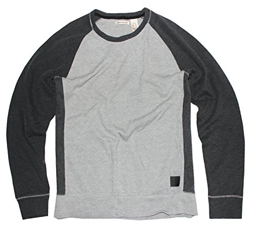 DKNY Jeans Men's Sweater Color Block Pullover, Grey, - Sweaters Dkny Men