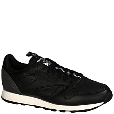 Reebok Classic Leather IT Black Coal-White cabba0d9e