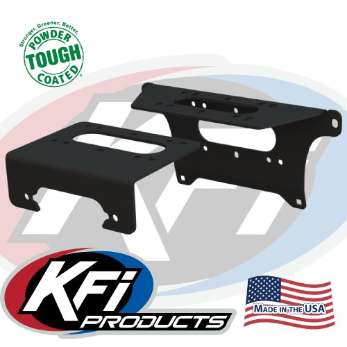 - 2018 Polaris Ranger XP 1000 Full-Size Winch Mounts By KFI Products 101480