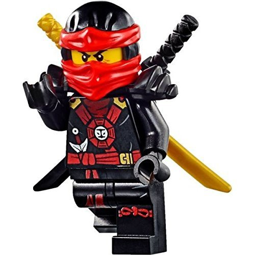 Lego Ninjago Black (LEGO Ninjago Deepstone Minifigures - Kai with Gold and Black)