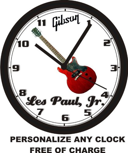 GIBSON LES PAUL JR GUITAR WALL CLOCK-Free USA Ship (Clock Wall Honda)