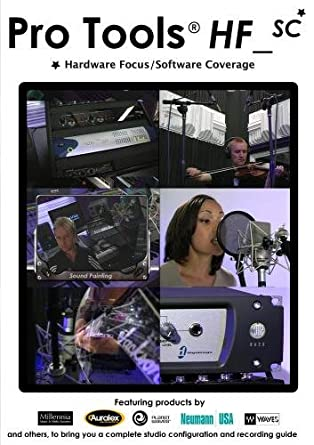 Amazon.com: Pro Tools HF_SC : Studio Set Up and Recording DVD ...