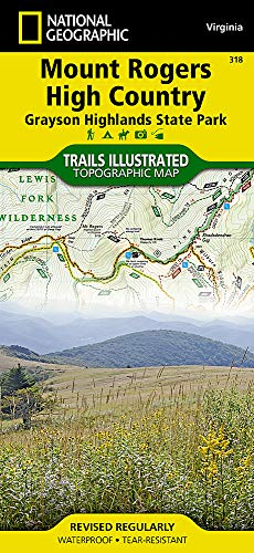 Mount Rogers High Country [Grayson Highlands State Park] (National Geographic Trails Illustrated Map)