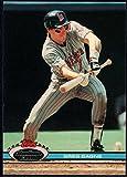 Baseball MLB 1991 Stadium Club #277 Greg Gagne #277 NM Near Mint Twins