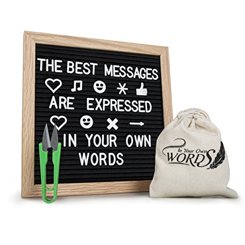 """Changeable Felt Letter Board - 10""""x10"""" 