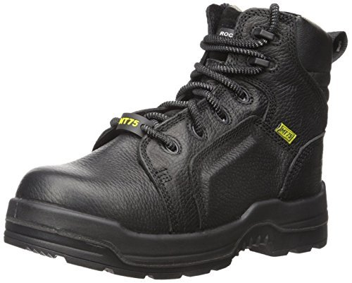 Rockport Work Women's More Energy RK465 Work Shoe, Black, 6.5 W US