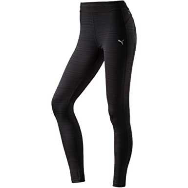 0e937e0b817702 Puma Hose Women's TP Long Tight Trousers-Black, Large: Amazon.co.uk:  Clothing