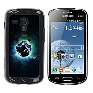 Be Good Phone Accessory // Dura Cáscara cubierta Protectora Caso Carcasa Funda de Protección para Samsung Galaxy S Duos S7562 // Abstract Space