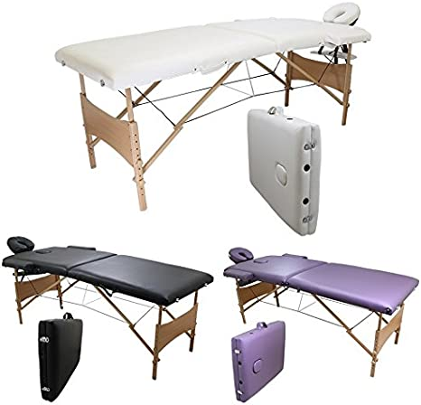 massage 2 légère de en pliante Linxor France zones ® Table qpSUzGMV