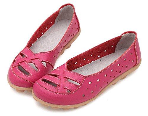 Collo A Basso Pink Ragazza' Da Fangstoloafer Hot Donna Flats Pw67qx