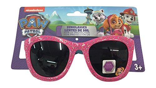 Paw Patrol Girls Pink Paws Sunglasses 100% UVA & UVB - Sunglasses Patrol Paw