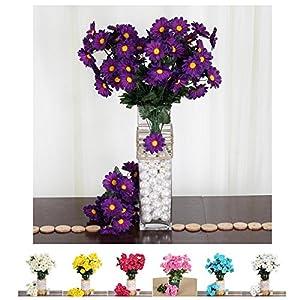 Efavormart 88 Artificial Gerbera Daisy Flowers for Wedding Arrangements Event Party Decor 74