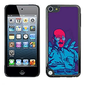iKiki Tech / Estuche rígido - Azul Meth Rey - Apple iPod Touch 5