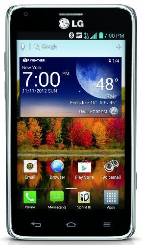 LG Mach Gray 8GB Sprint