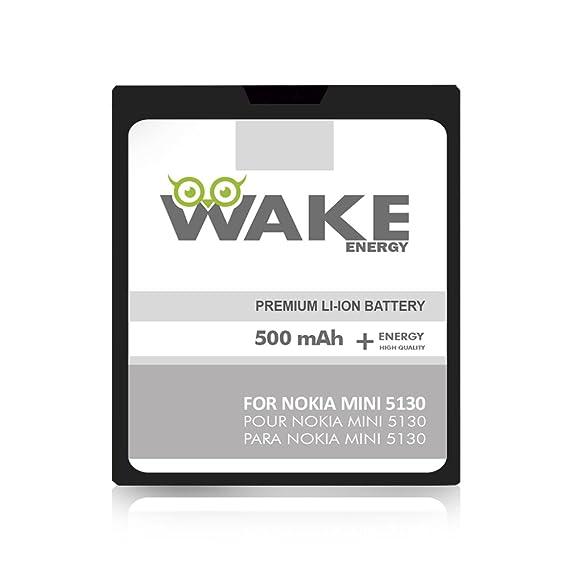 Amazoncom Wake Oem Battery For Nokia Mini 5130 Cell Phone Li Ion