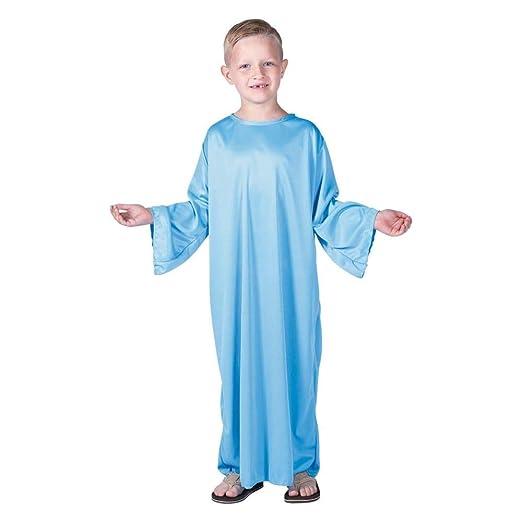 Amazon.com: Venta Kids Azul Claro Natividad albornoz (S ...
