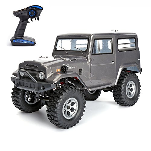 Vander Life Hobby RC Crawlers 1/10 Scale RC Crawlers Racing Electric 4WD Off Rock Cruiser Monster Truck - 4 Climbing Power Rc Car With lights