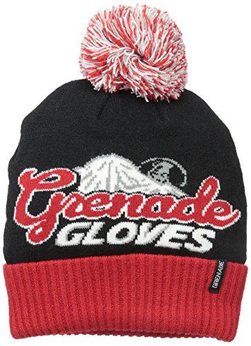 Grenade Mens Beanie (Grenade Men's Fest Hat, OSFM, Rocky Mountain)