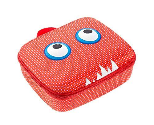ZIPIT Beast Box Jumbo Storage Case, Red Photo #4