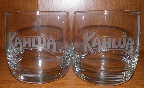 Kahlua Coffee Liqueur Glass Set of 2 Cocktail Tumbler by KAHLÚA