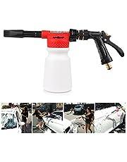 Youool auto-schuimpistool 900 ml, schuimlans, 2-in-1 hogedrukreiniger, wordt gebruikt voor het reinigen van auto- en motortuinen.
