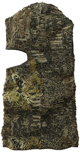 Quietwear Men's Camo Grass 1 Hole Mask, Camo Grass, One Size