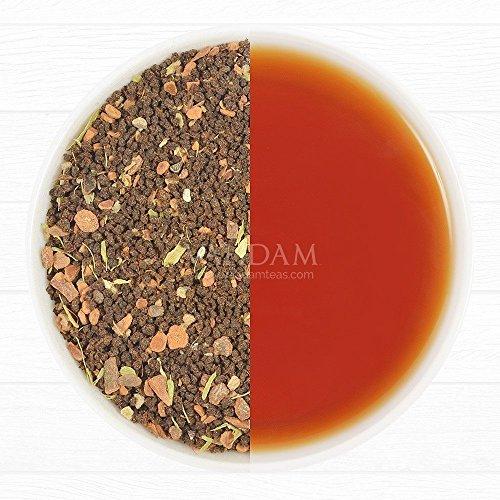 Cinnamon Spice, Masala Chai Tea (50 Cups) - Sweet & Spicy Cinnamon Tea, Bend of Assam Black Tea with Fresh Cinnamon & Cardamom - India's Original Masala Tea Recipe, Blended & Packed in India (Keurig Orange Spice Tea compare prices)