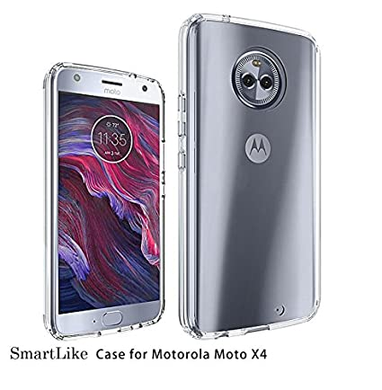 new product ad38d 7f4b9 SmartLike Motorola Moto X4 Back Cover Transparent Clear: Amazon.in ...